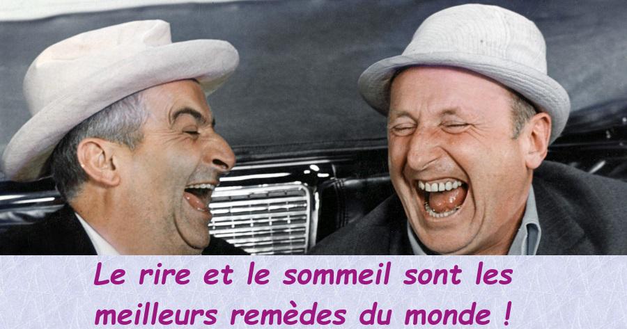 citation rire - louis de funes - bourvil