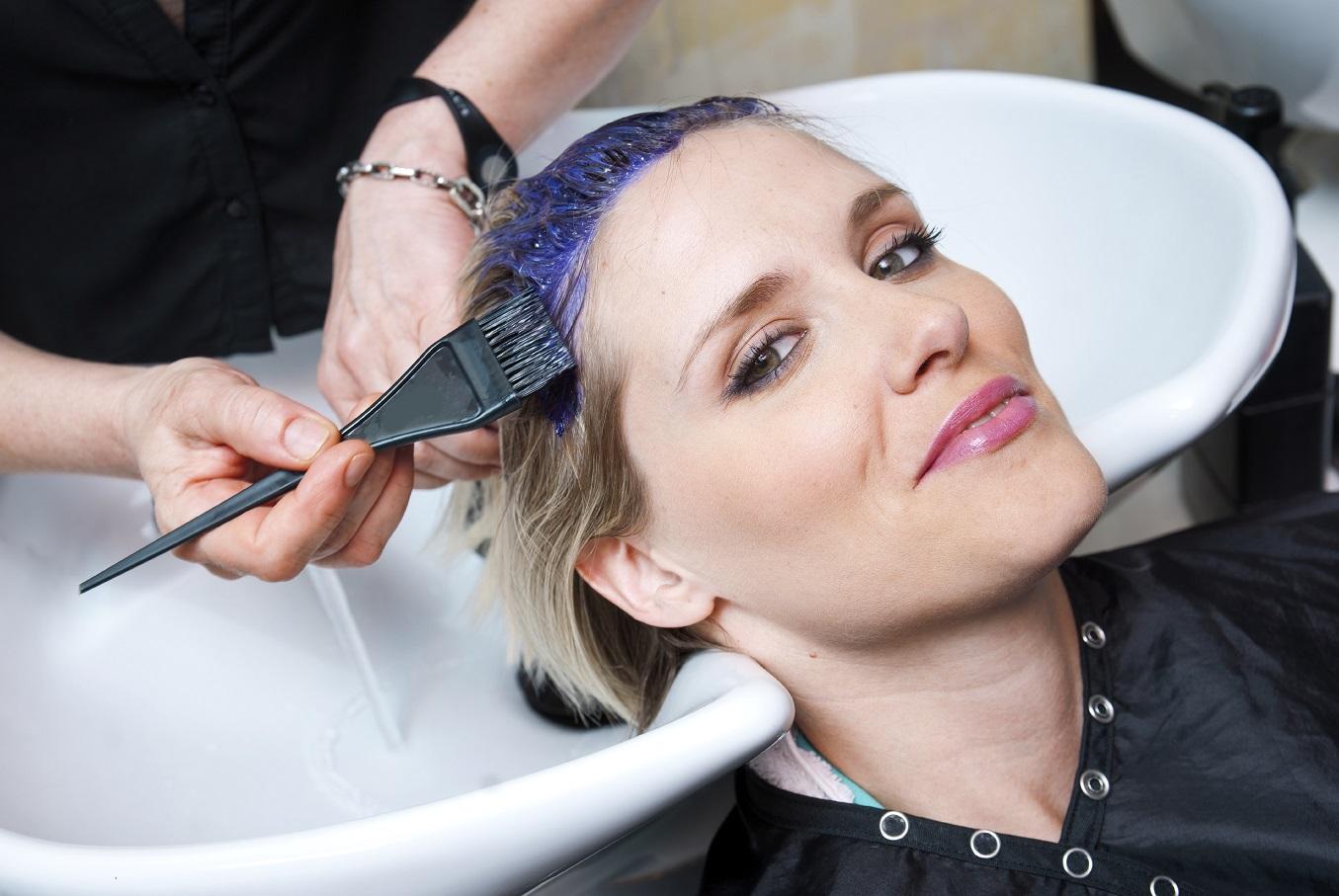 coloration cheveux - cosmetique