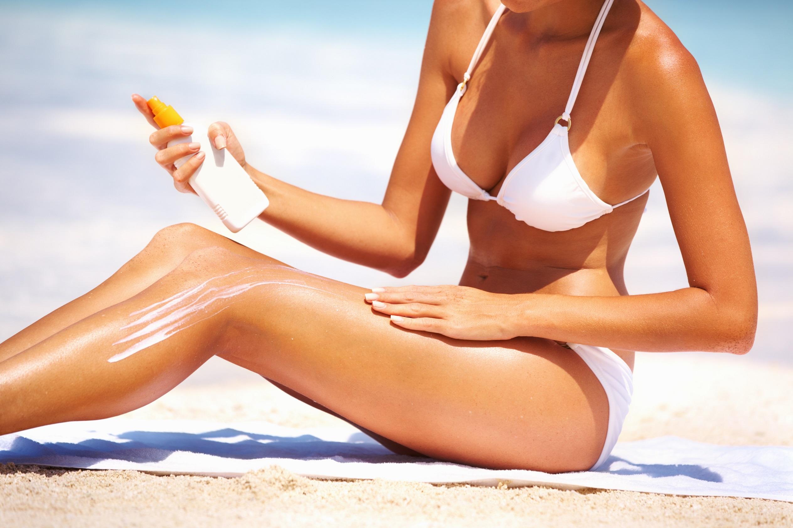 creme solaire - cosmetique